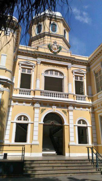 Fachada do Palácio Arariboia em posição horizontal