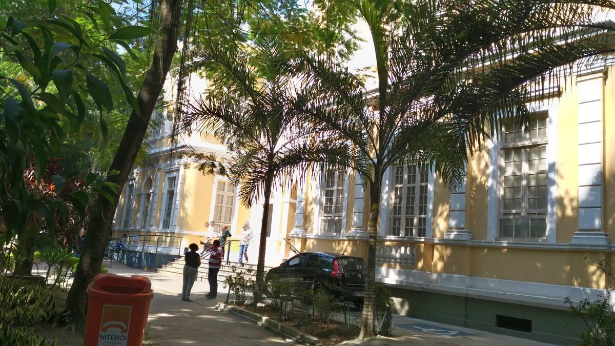 Frente do Palácio Arariboia