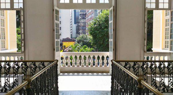 Vista interna do Palácio Arariboia