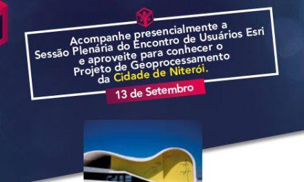 Eu Esri 2016: evento de transformação digital em Niterói