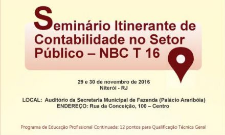 CRCRJ realiza Seminário Itinerante de Contabilidade no Setor Público