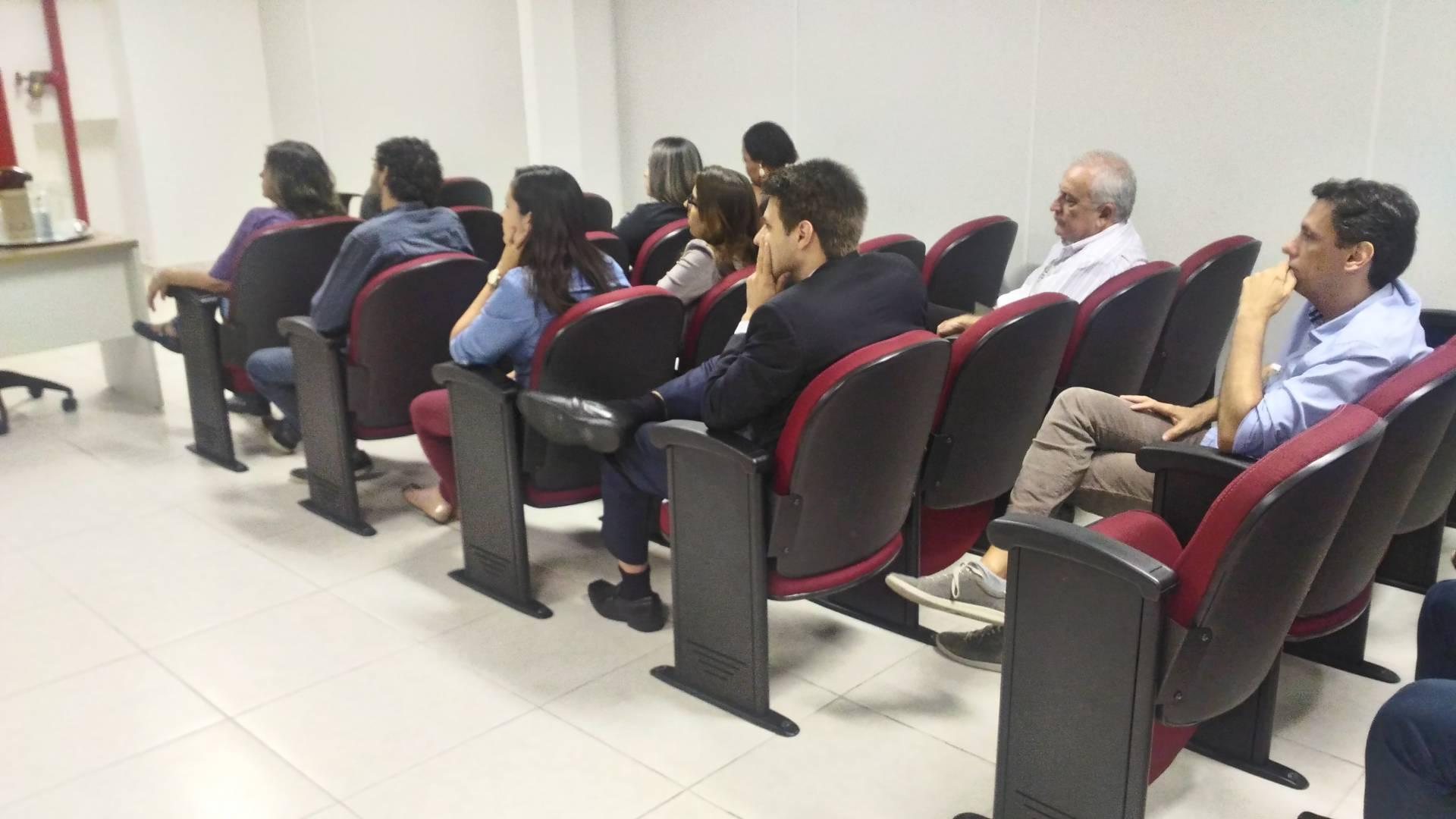 """Palestra sobre """"Liderança"""" promovida pelo secretário Cesar Augusto Barbiero."""