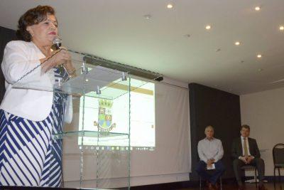 Presidente do CRC, Vitória Maria (Foto: Bruno Eduardo Alves)