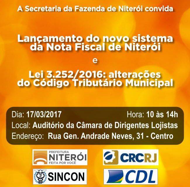 Lançamento do novo sistema de Nota Fiscal Eletrônica de Niterói: mais prático e ágil