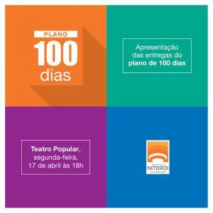 Convite para a apresentação do Plano 100 Dias.