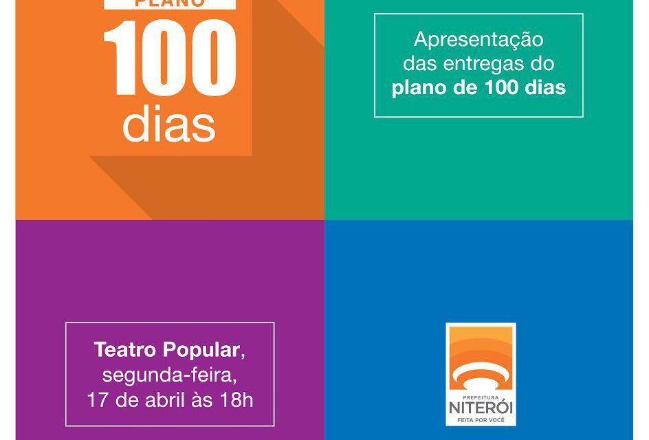 Entrega do Plano de 100 dias da Prefeitura de Niterói