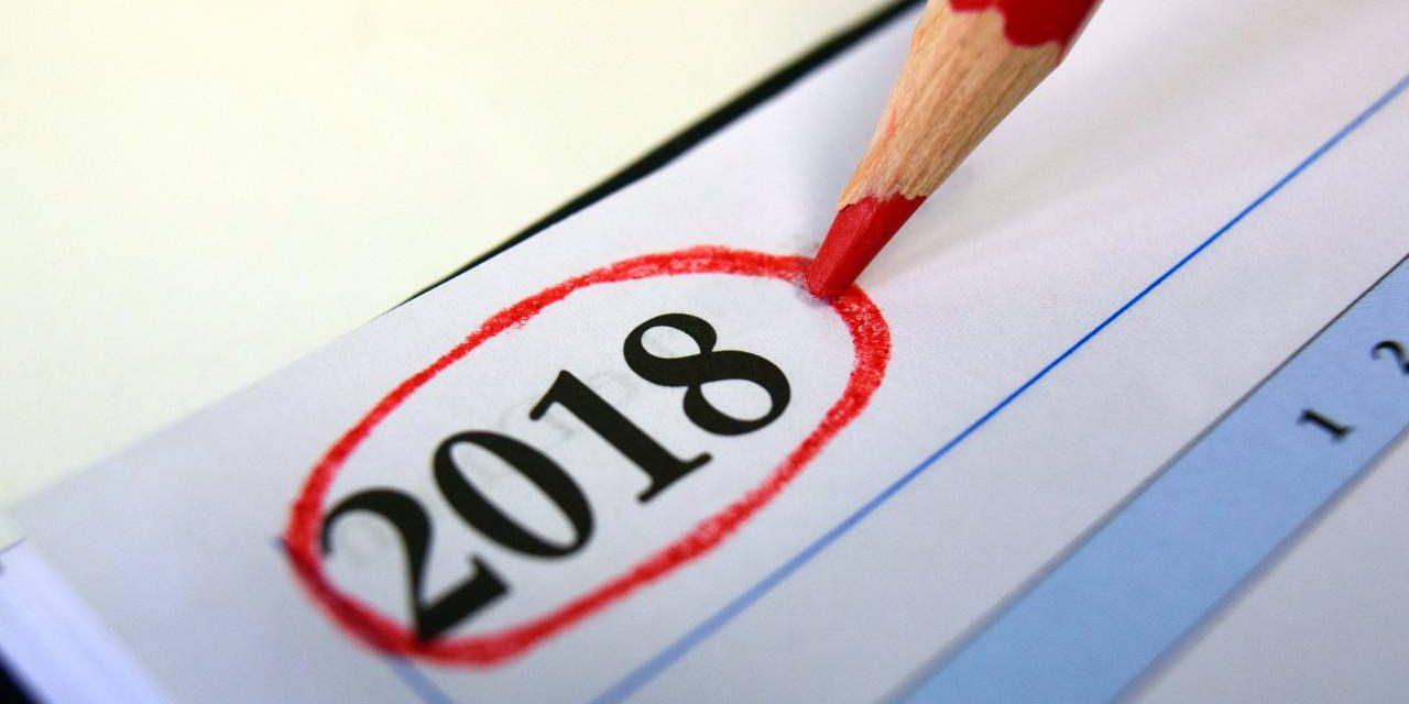 Calendário Tributário 2018