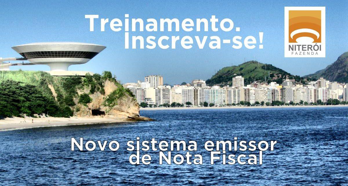 Novo sistema emissor de nota fiscal de serviços