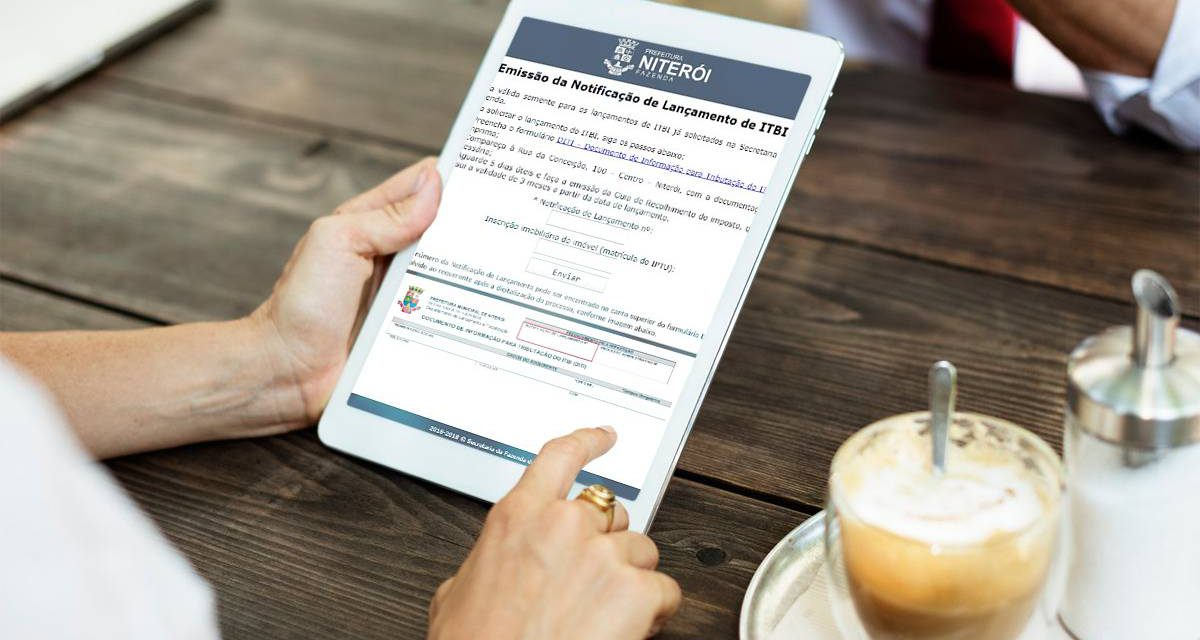 Prefeitura de Niterói passa a disponibilizar online guia do ITBI
