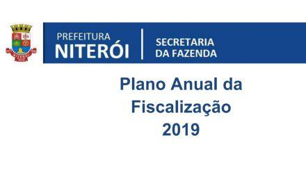 Plano Anual da Fiscalização 2019