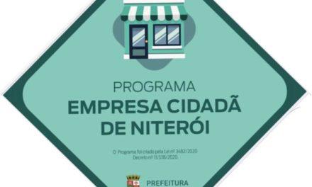 Prefeitura de Niterói prorroga prazo para revalidar termo de adesão ao Programa Empresa Cidadã