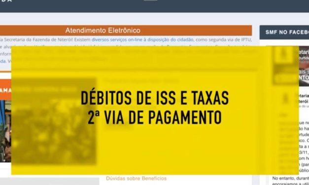Consulta ISS e Taxas passo a passo