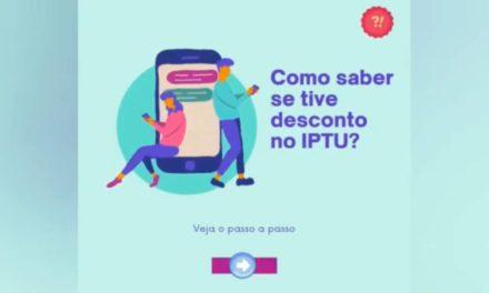 Como saber se tive desconto no IPTU?