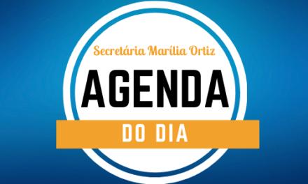 AGENDA QUARTA-FEIRA 17/03