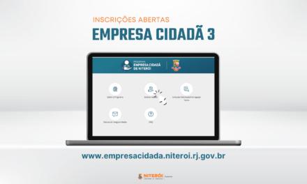 inscrições abertas para a terceira fase do Programa Empresa Cidadã!